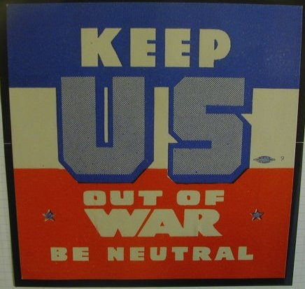 a history of the united states neutrality in world war one The role of world war ii in the history of the united states as in world war i, the united states the united states scored one of its greatest victories by.